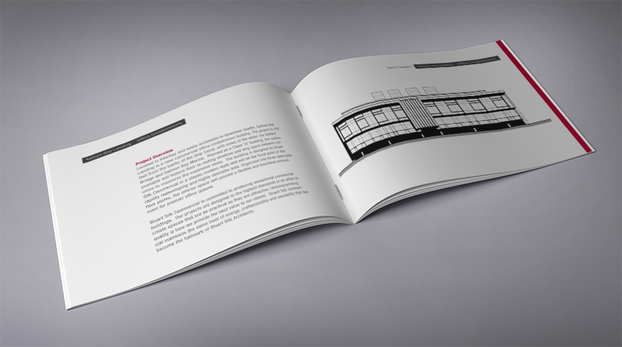Brochure layout and design